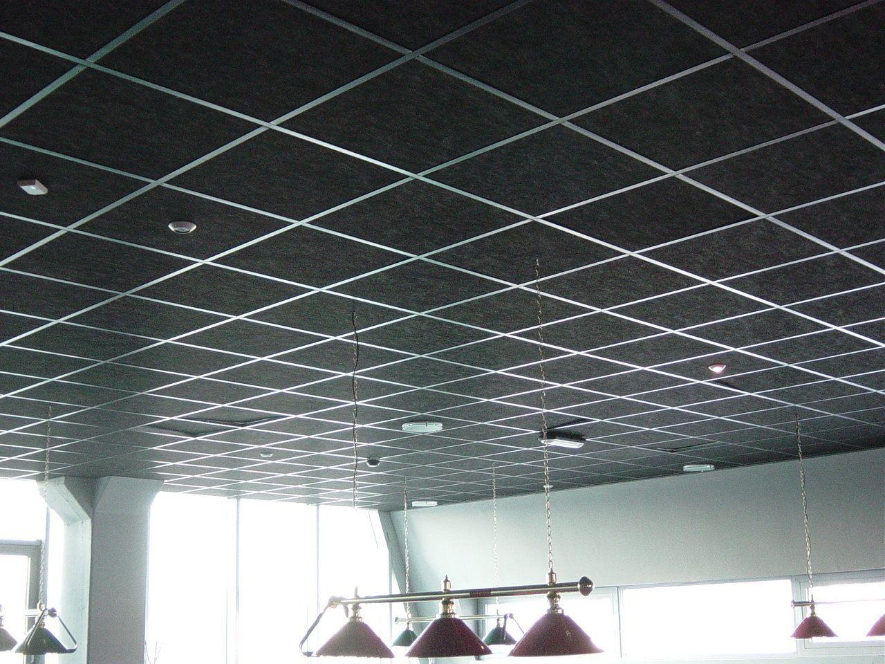Бесшовный потолок армстронг