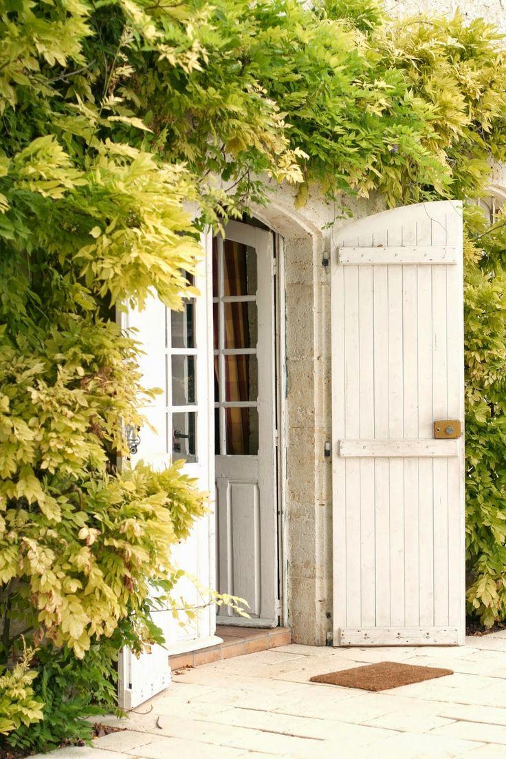 Арочные двери в стиле прованс