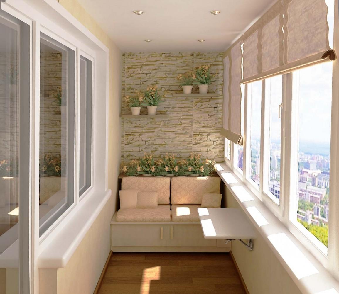 Тахта на балконе