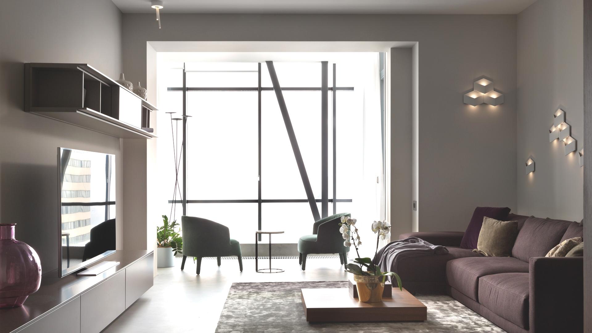 Балконное окно без штор