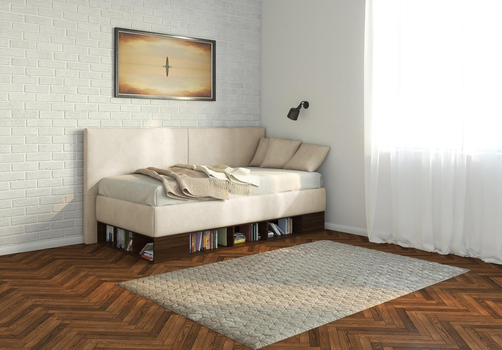 Белый диван-тахта