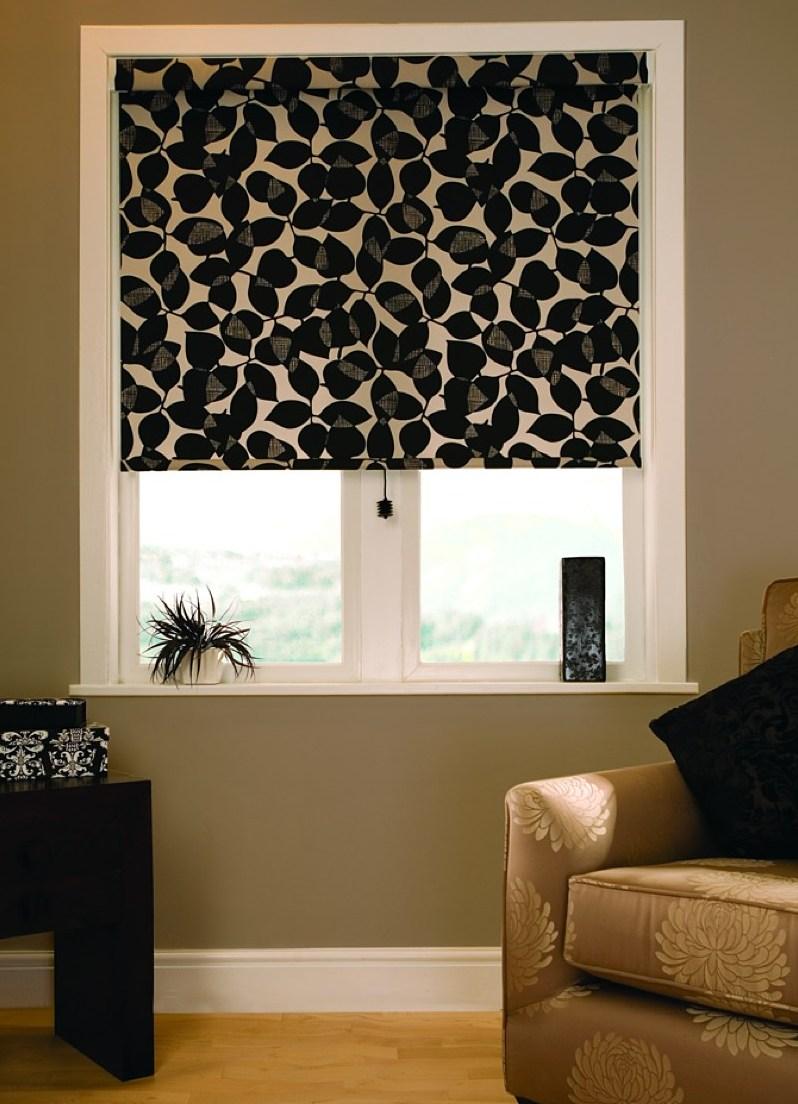 Кассетные черные шторы