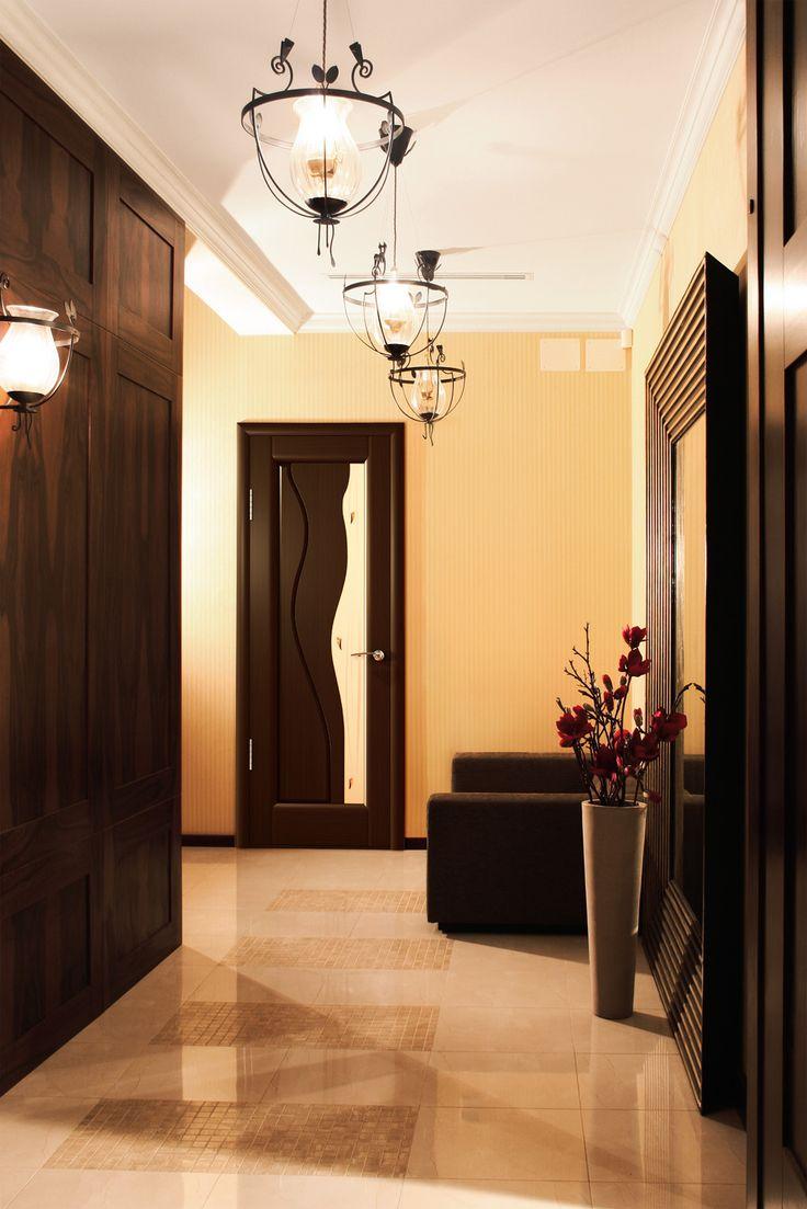 Черная ламинированная дверь