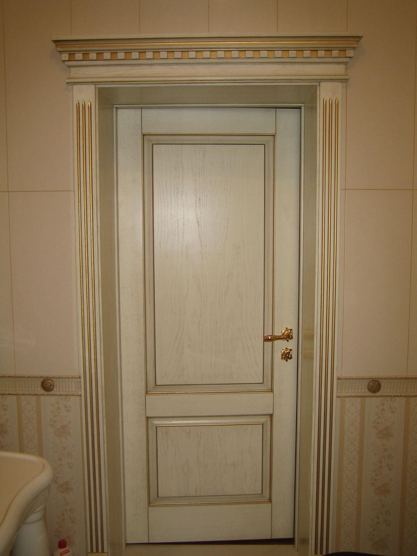 Межкомнатная дверь МДФ в классическом стиле