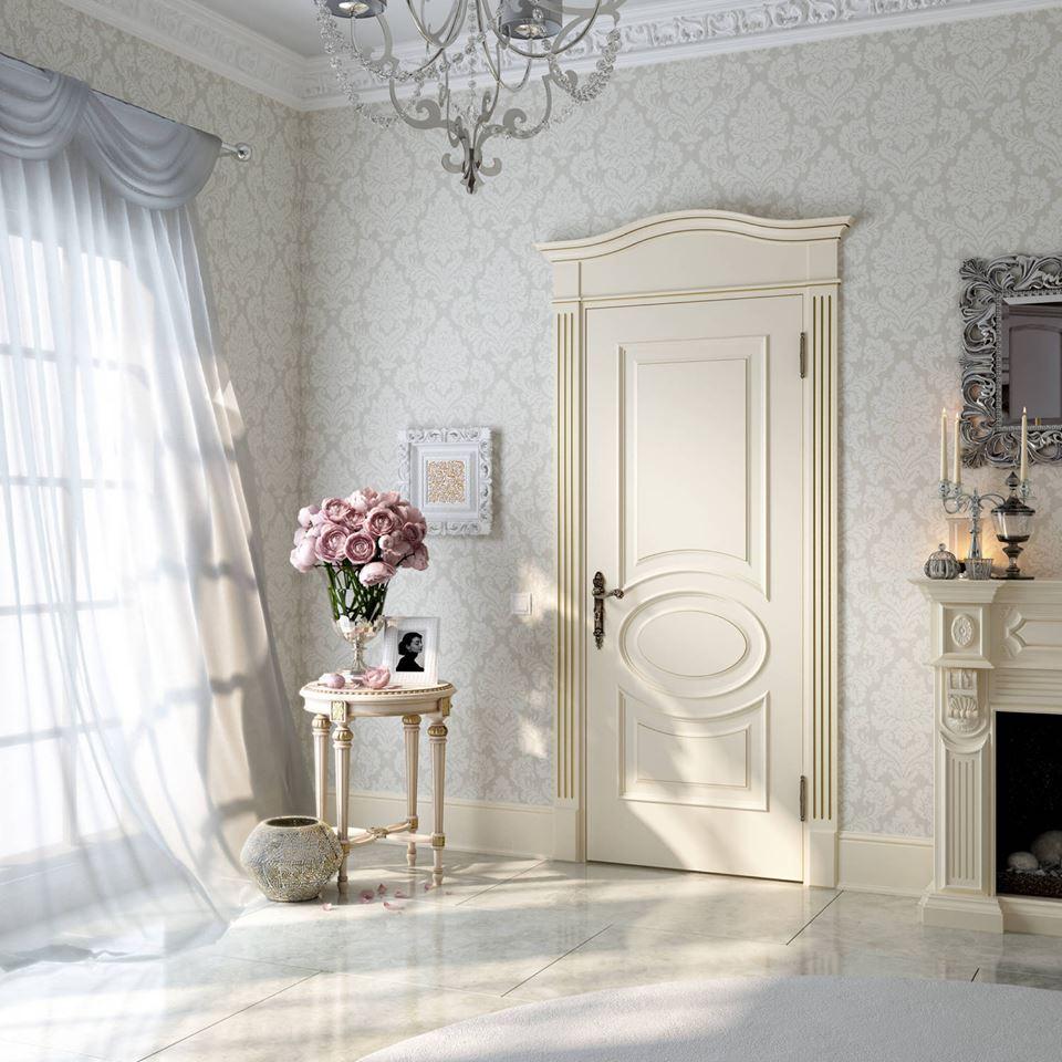Межкомнатная дверь в классическом стиле 2017