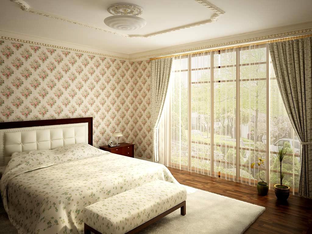 Кровать по фэн-шуй в классическом стиле