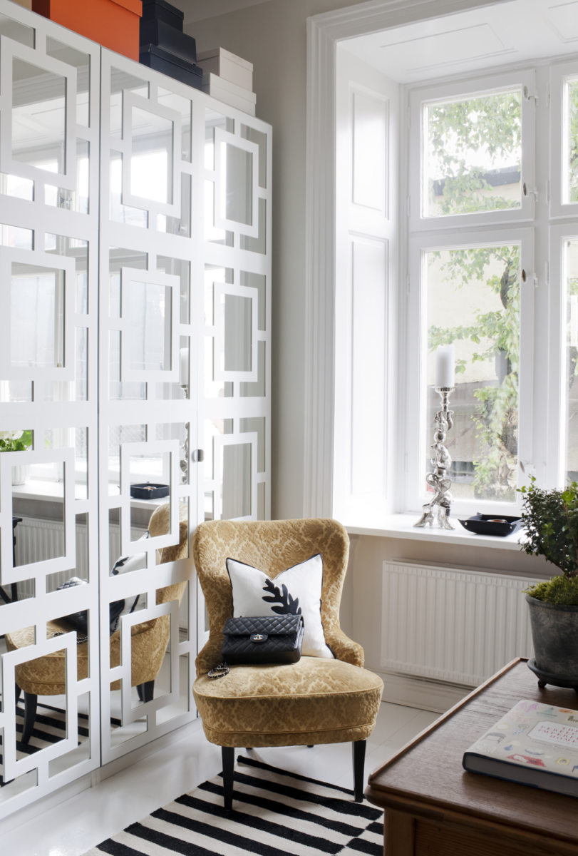 Украшение окна без штор