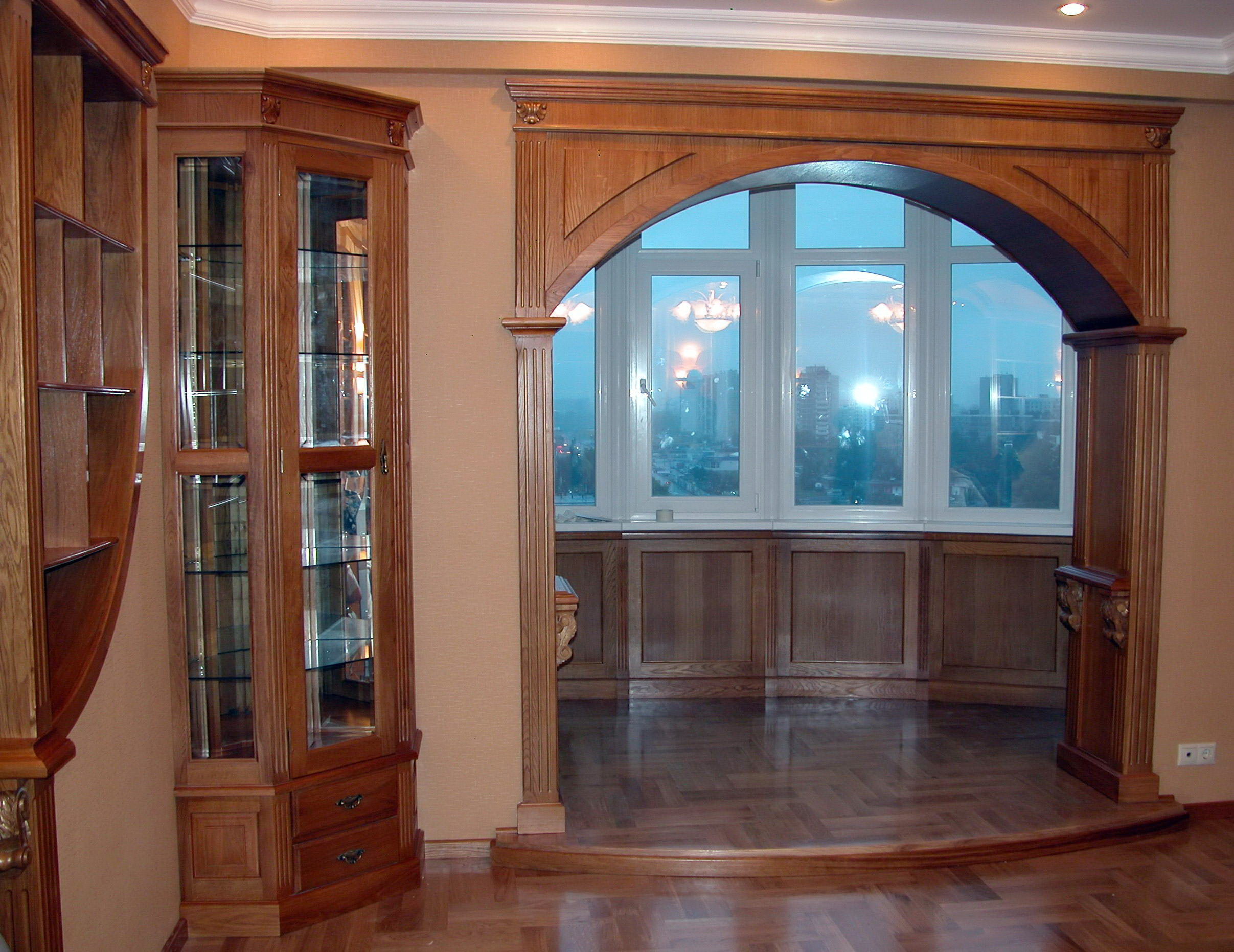 Дверные откосы с декором