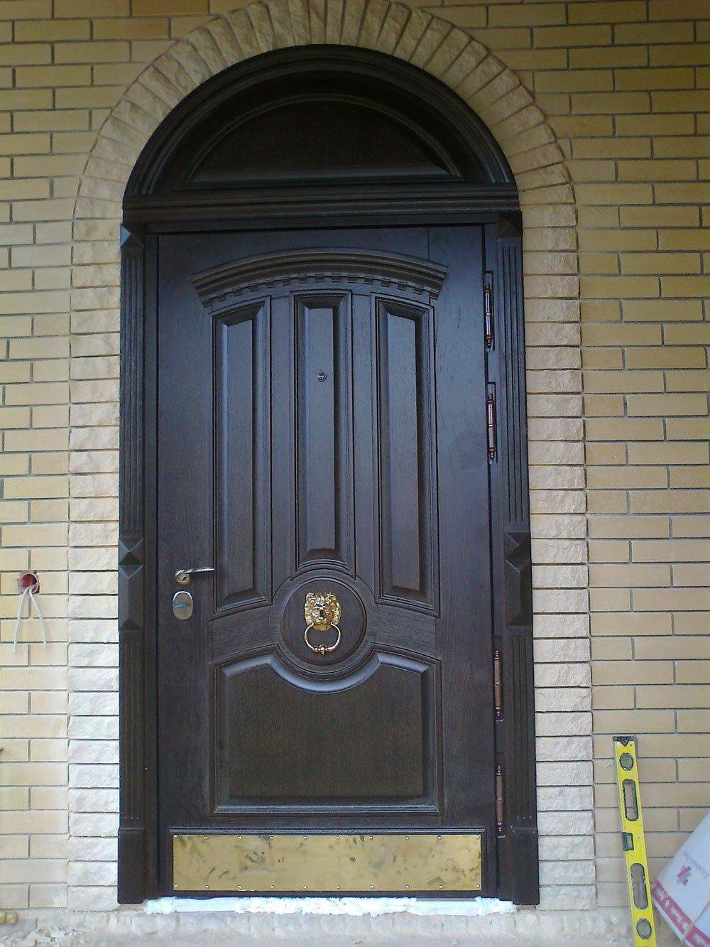 Входная дверь МДФ с декором