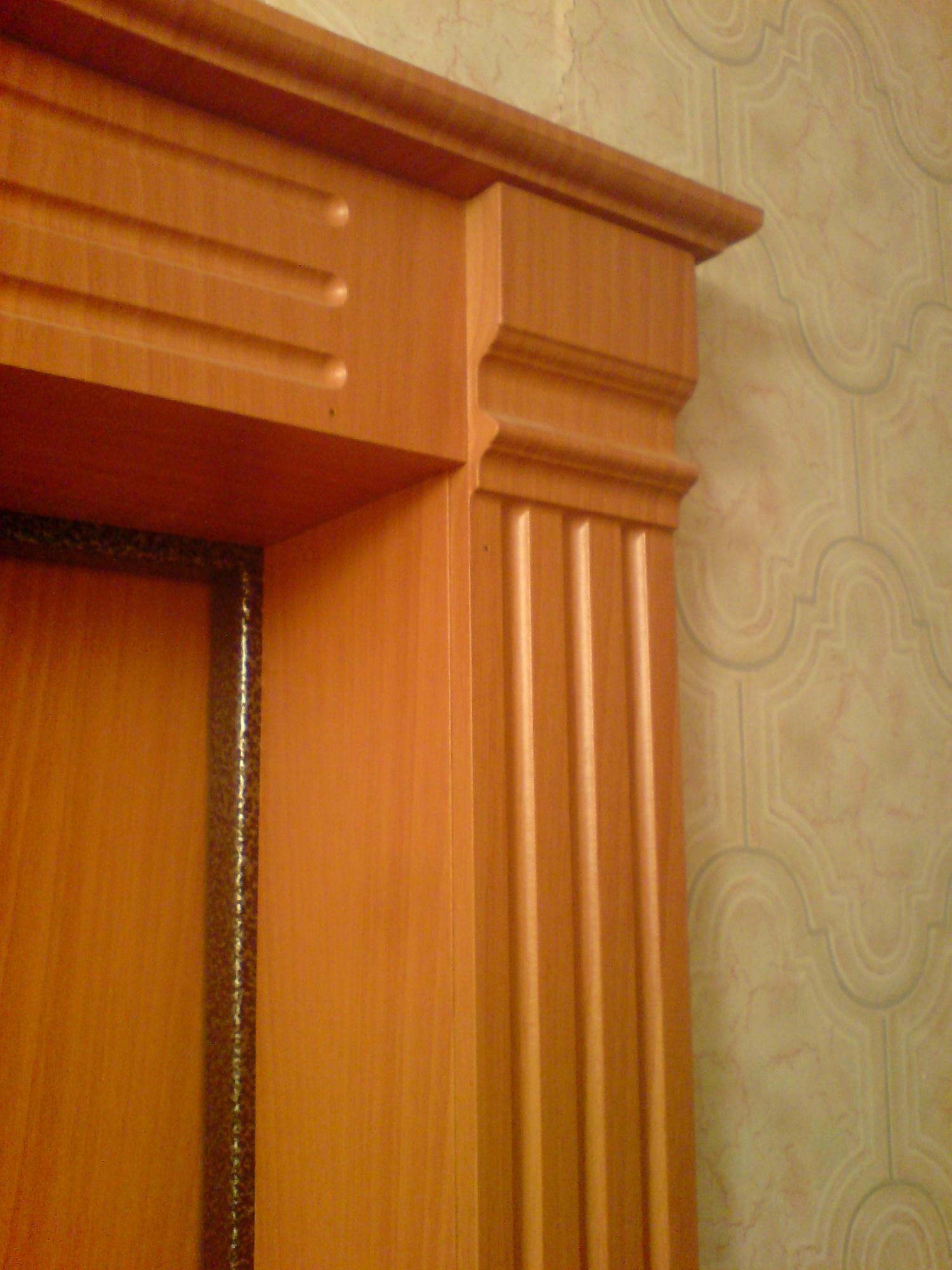 Декоративные откосы на двери