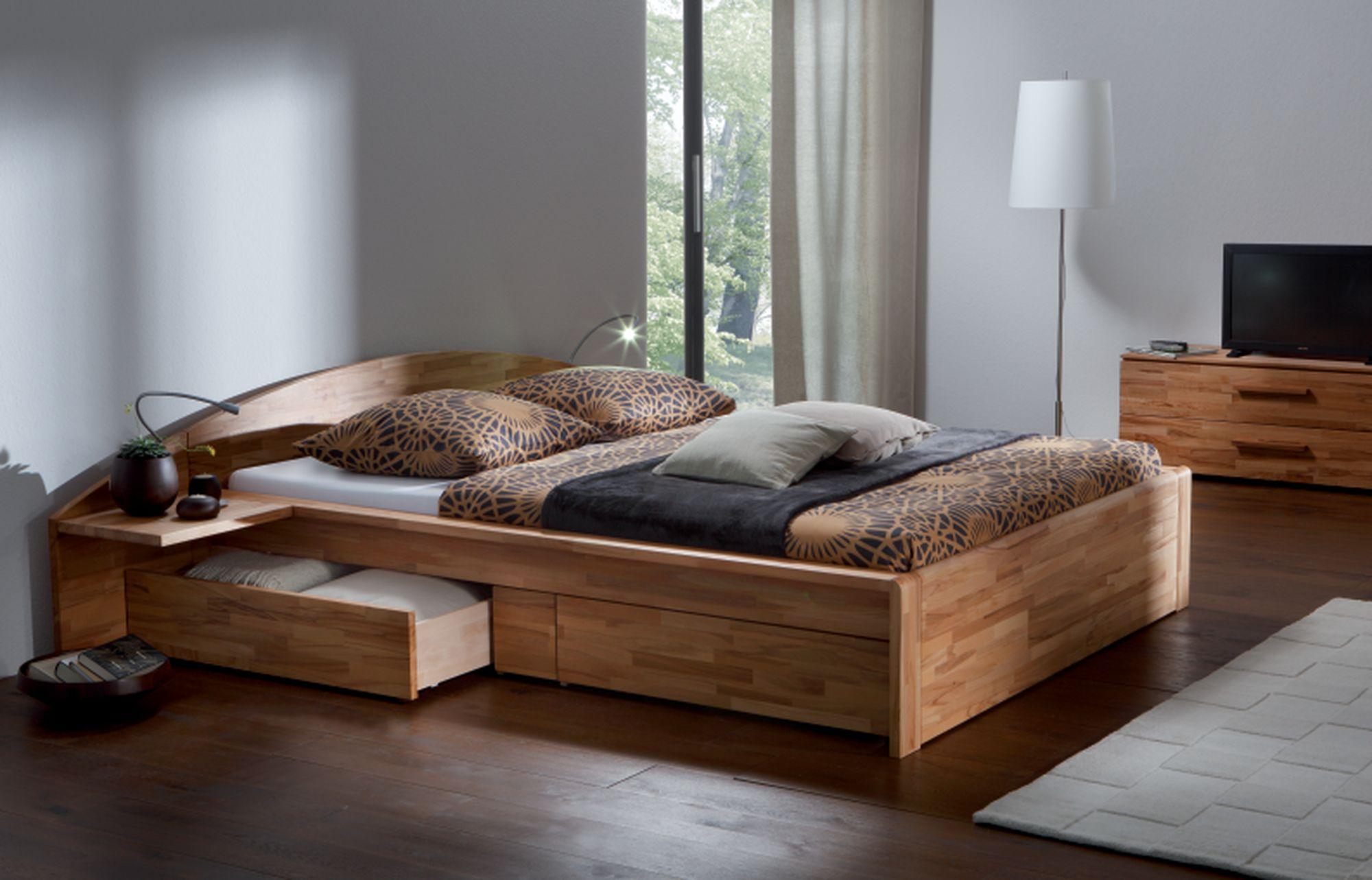 Деревянная кровать по фэн-шуй