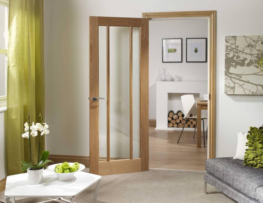 Деревянная дверь капучино