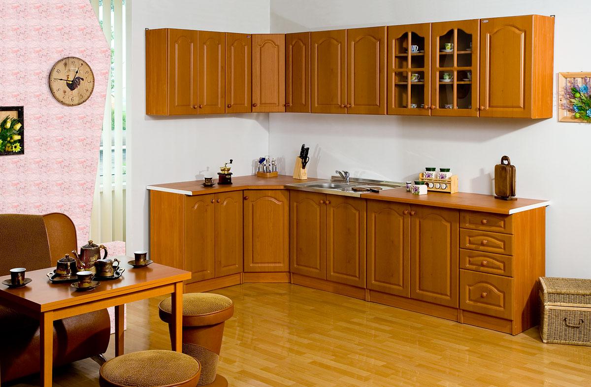 Деревянные шкафы для кухни