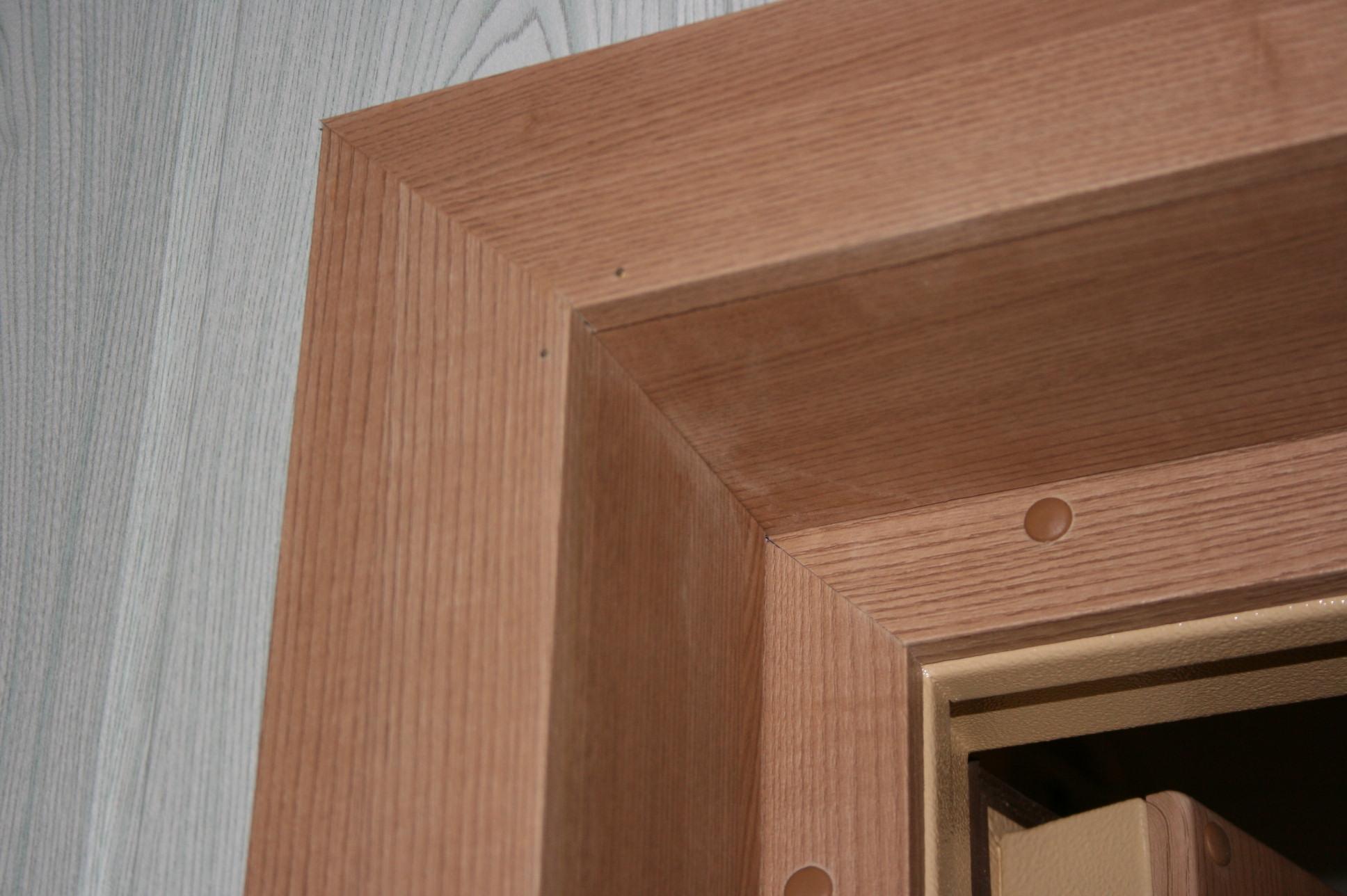 Деревянные дверные откосы