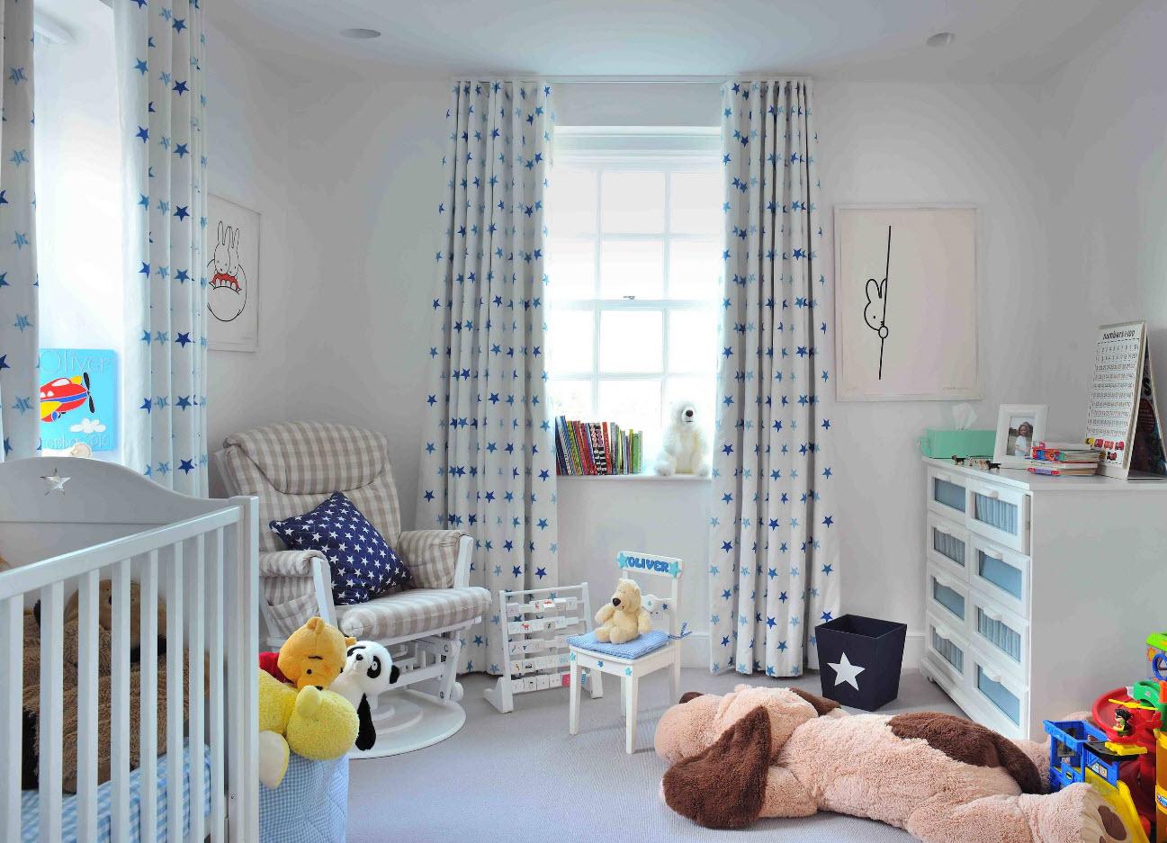 Современные шторы в детской