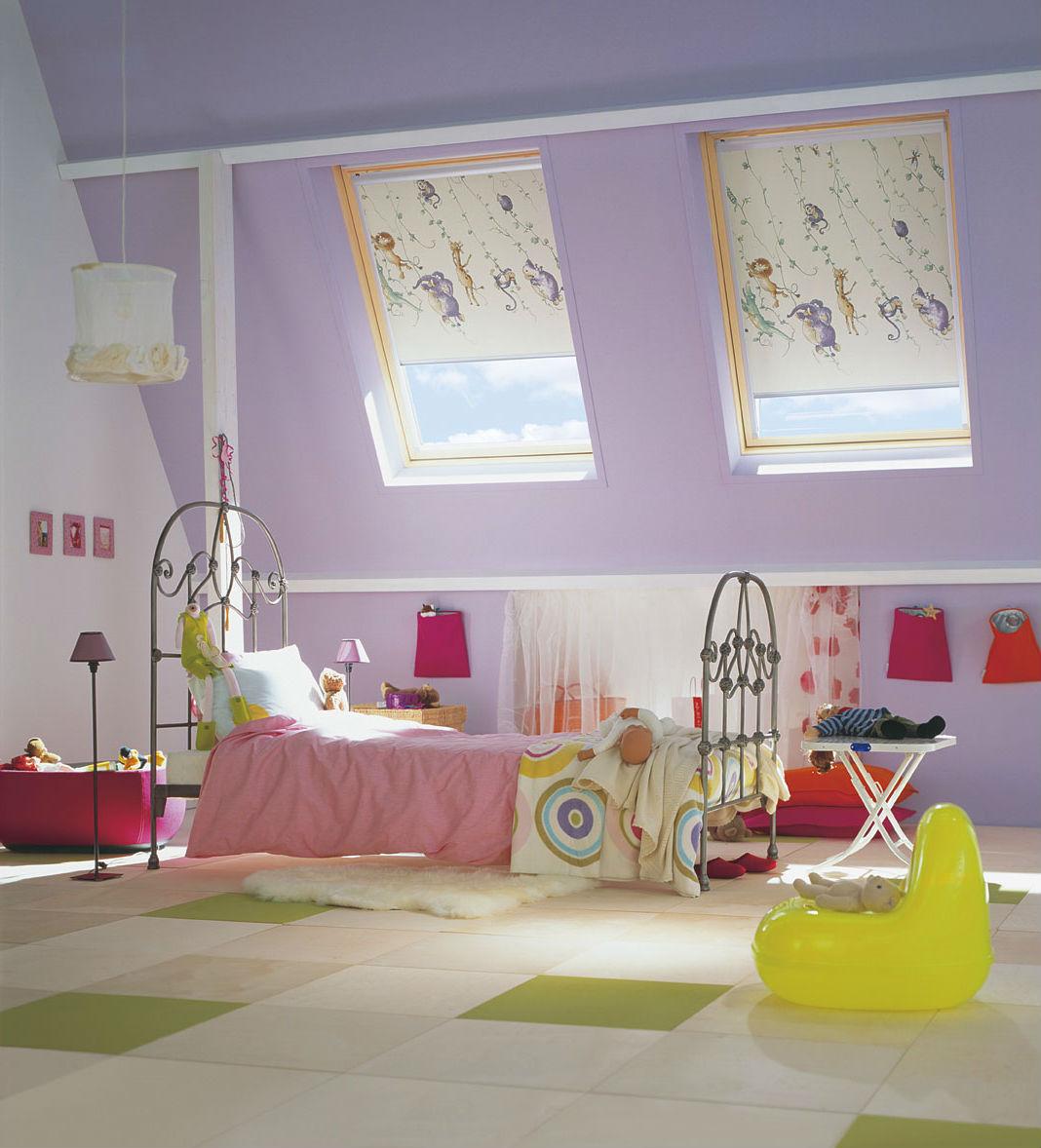 Кассетные шторы в детской