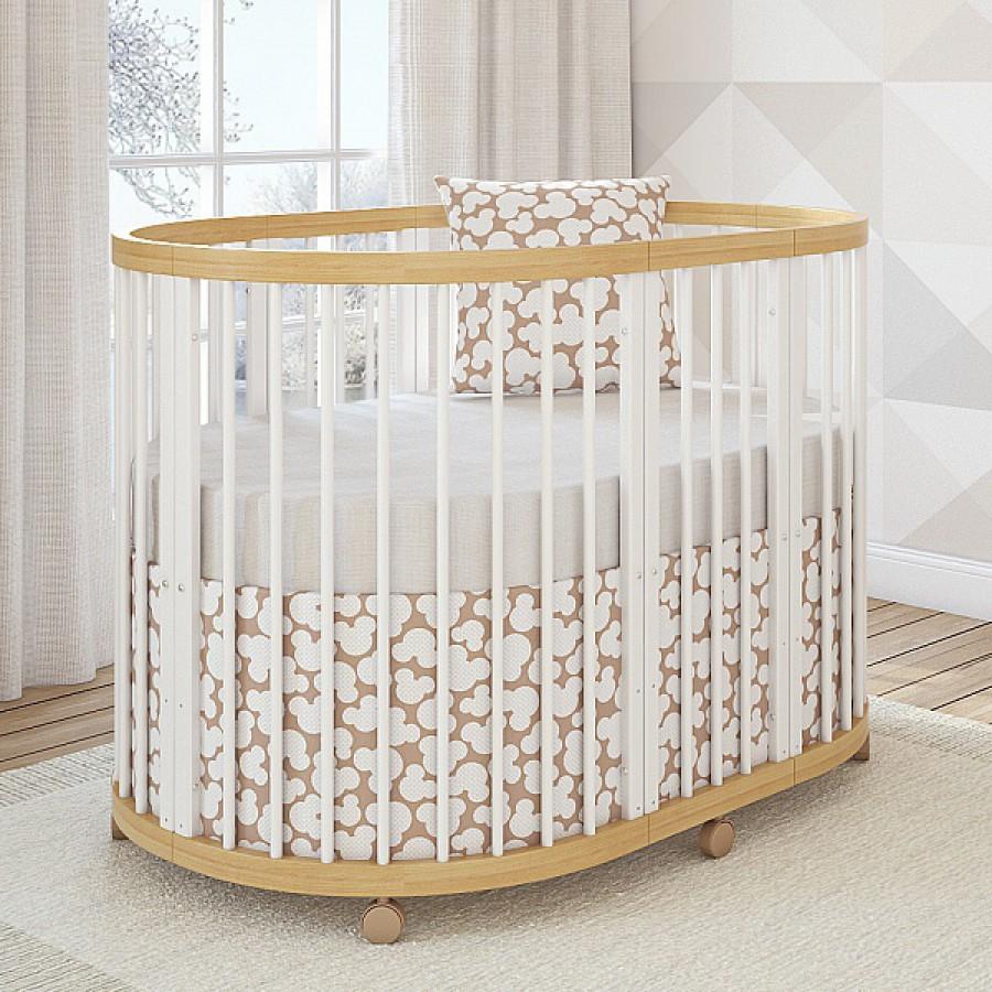 Овальная детская кровать