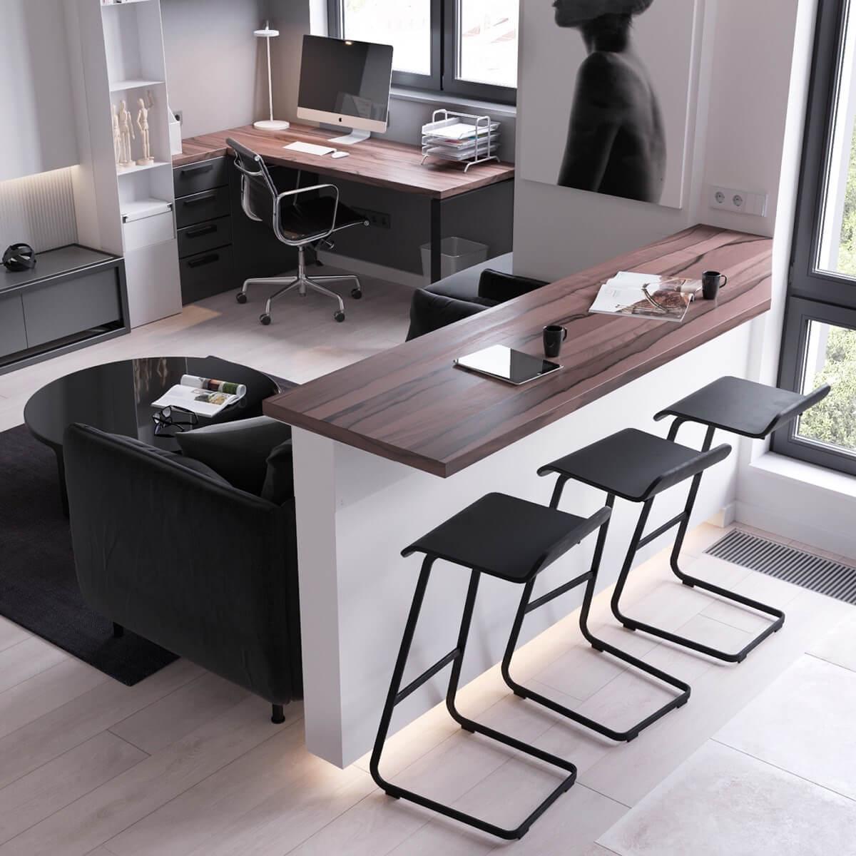 Барный стол в доме