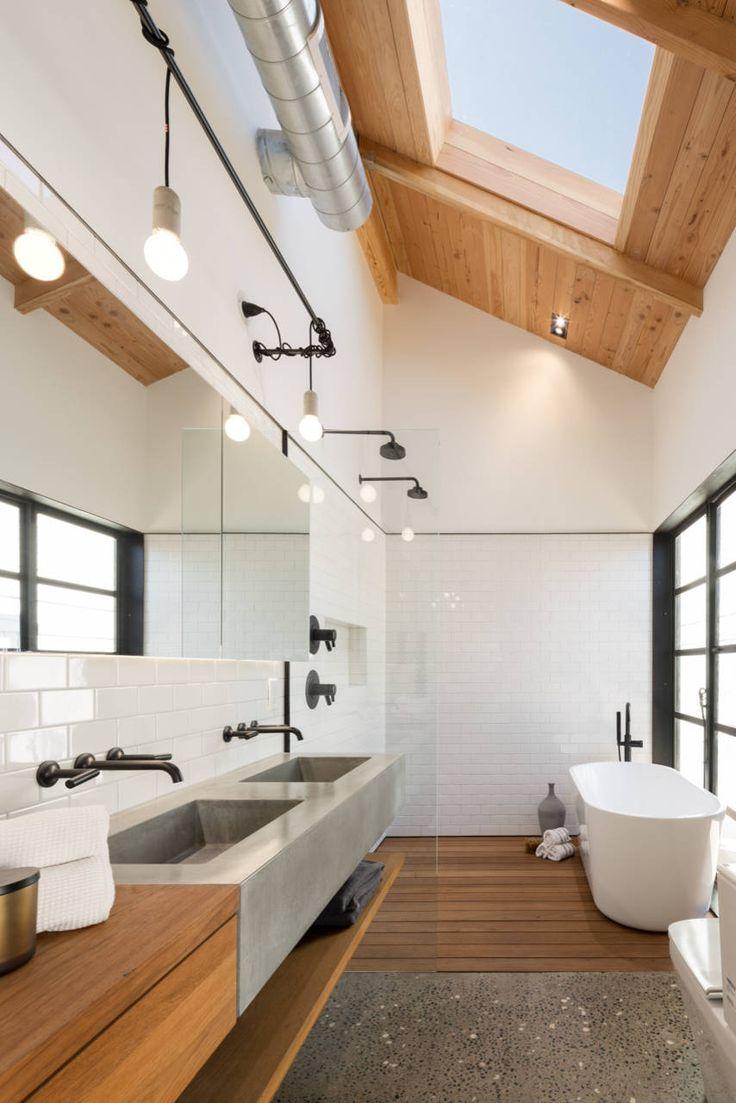 Потолок в ванной в доме