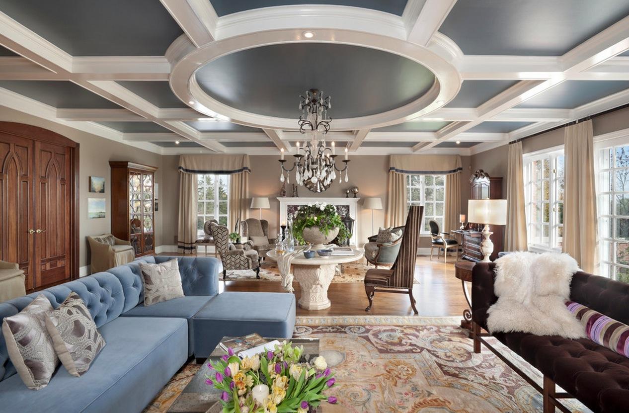 Круглый потолок в доме