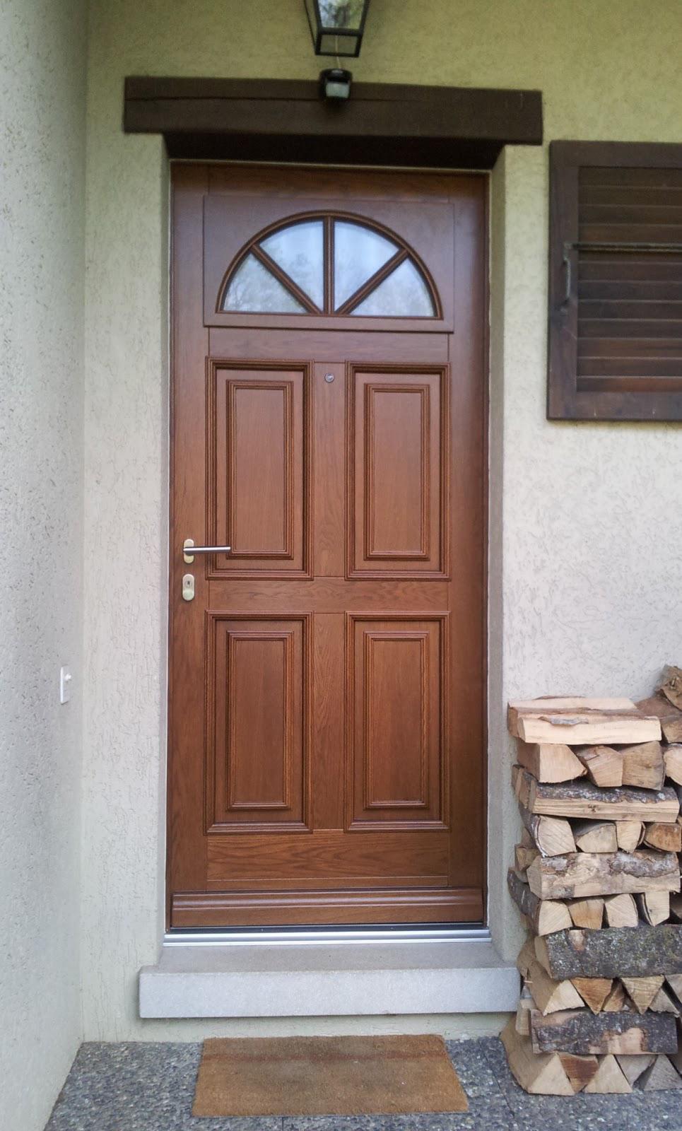 Входная дверь МДФ в дом