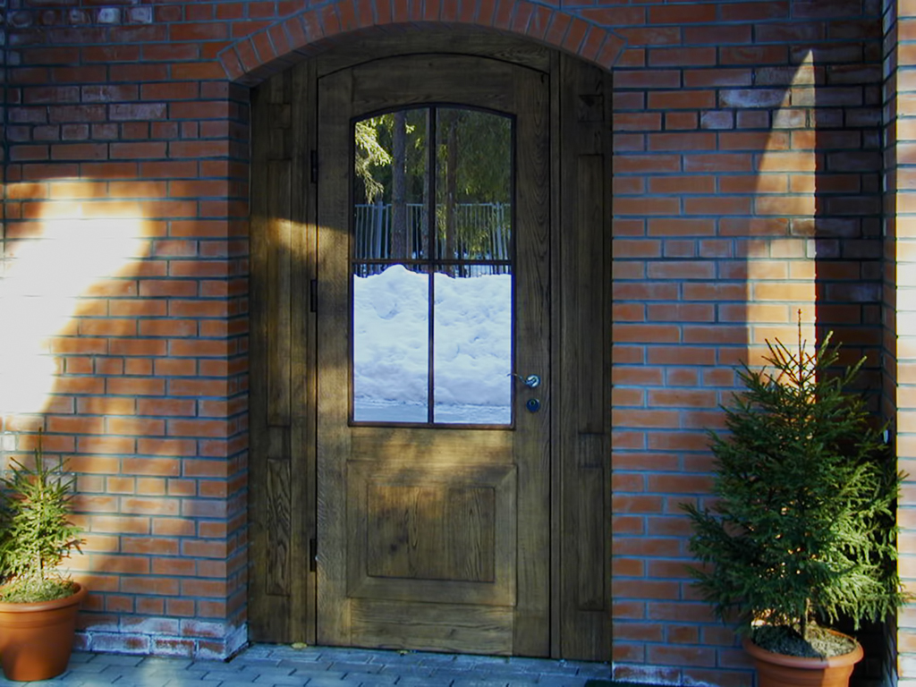 Входная дверь МДФ под дуб