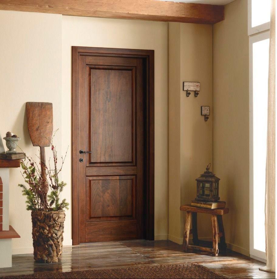 Дверь для дачи из дуба