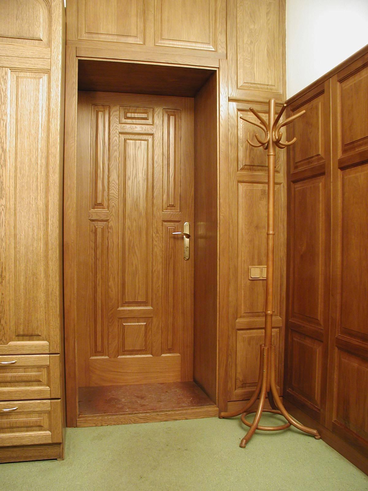 Дверные откосы из дуба