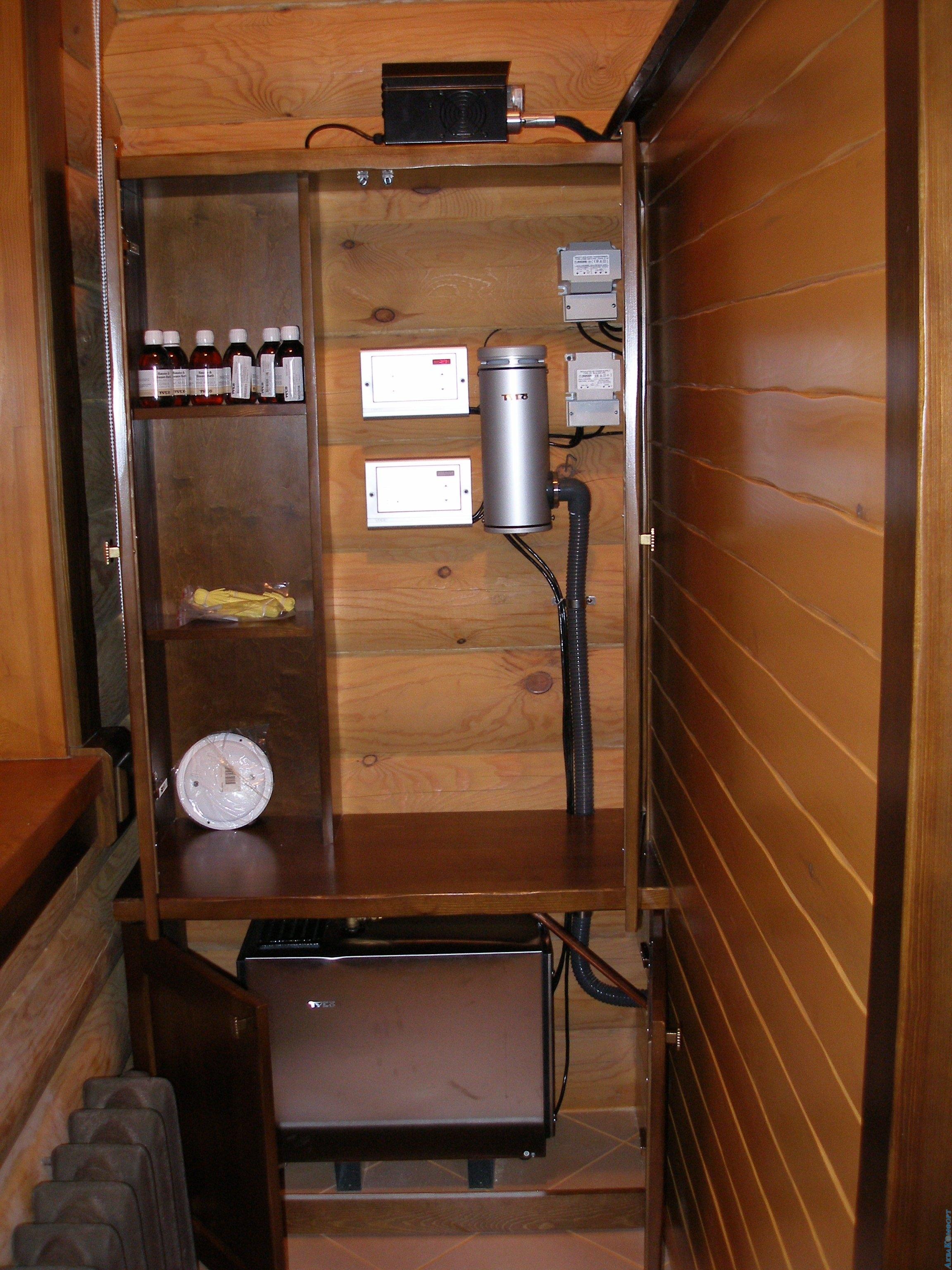Электрический парогенератор для бани