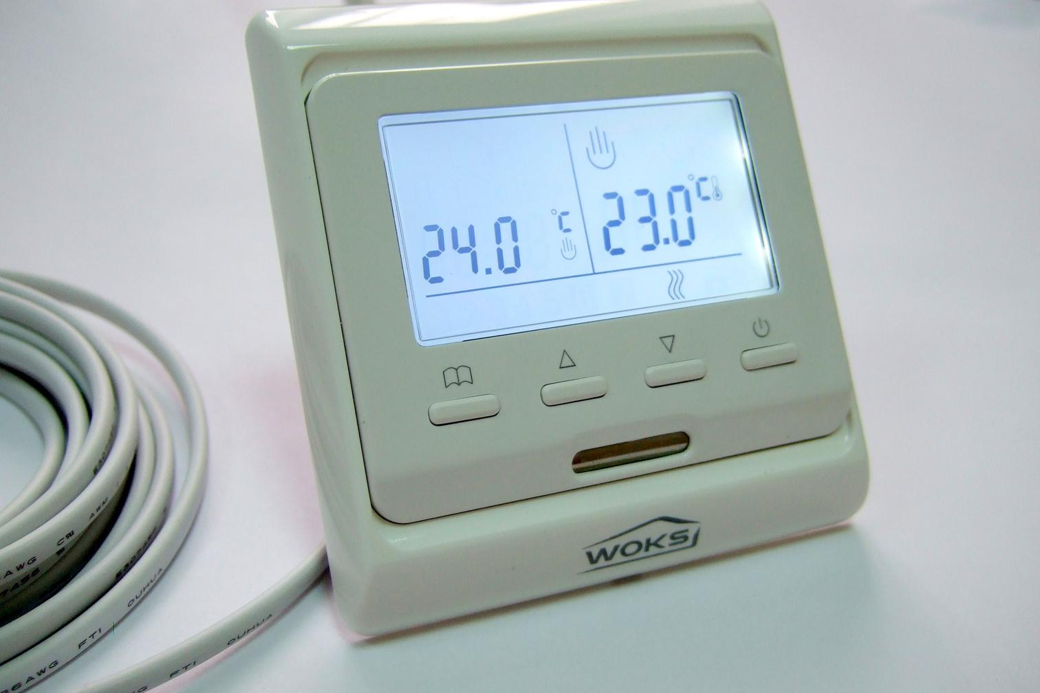 Электронный терморегулятор для теплого пола