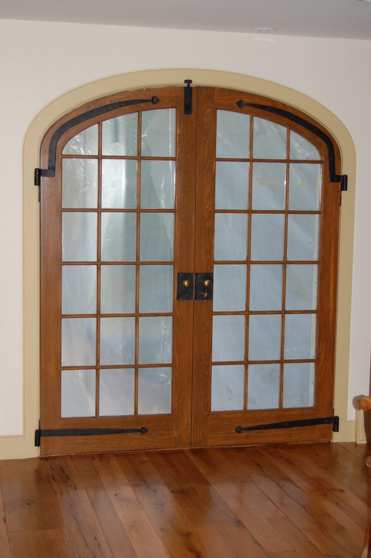 Арочная дверь в стиле этно