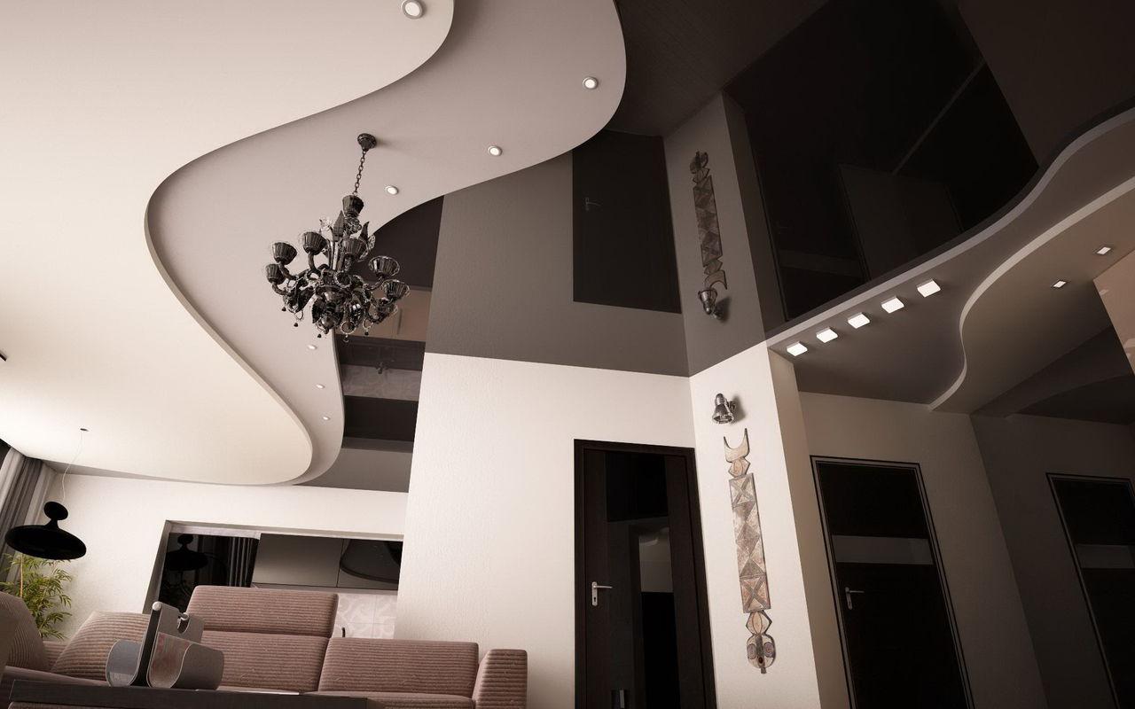 Потолок в хрущевке: варианты оформления (24 фото)
