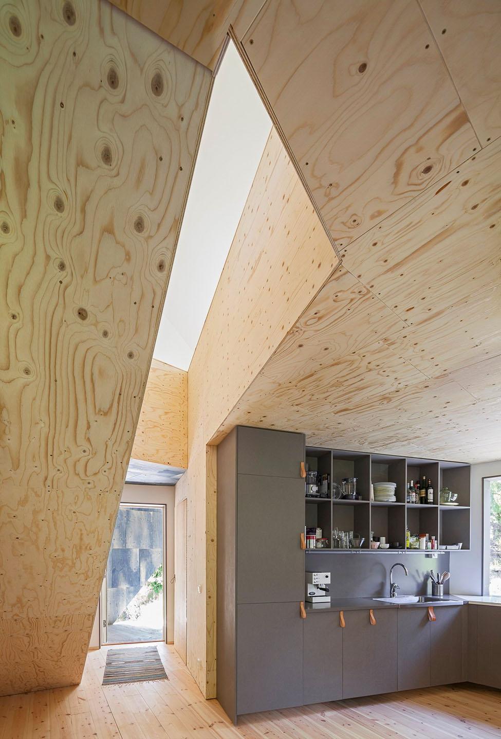 Геометрия потолка из фанеры