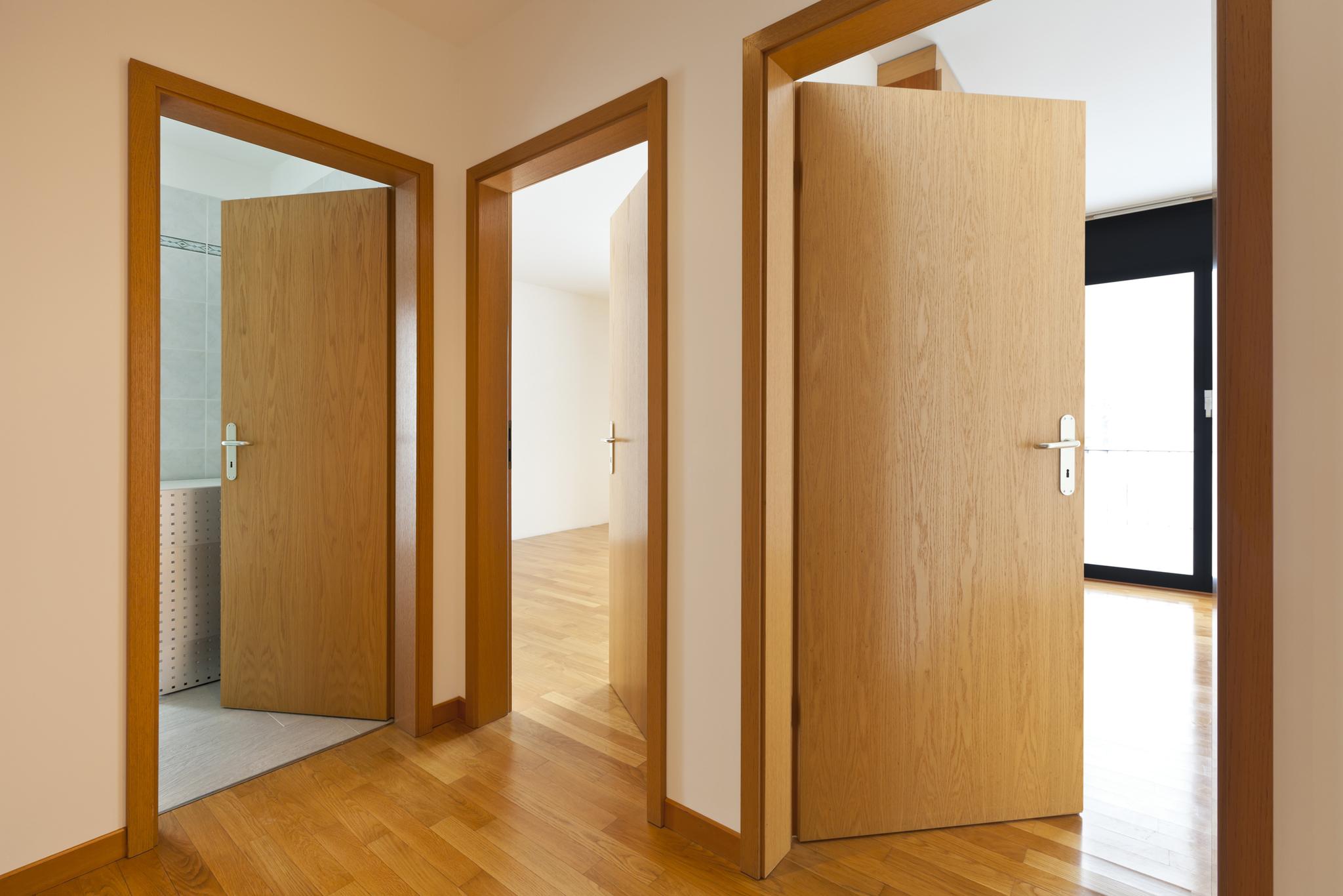 Ламинированная глухая дверь