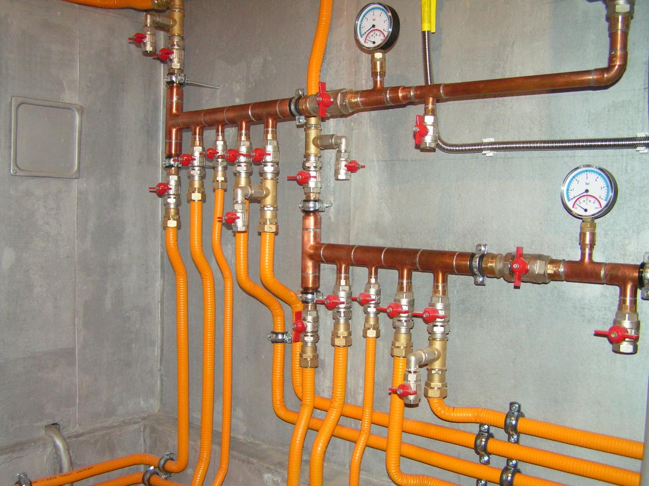 Гофрированные трубы для водоснабжения
