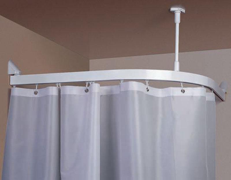 Готовый карниз в ванной