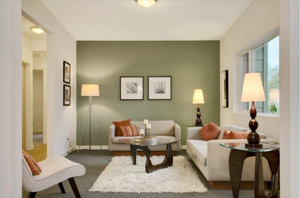 Малогабаритный диван в интерьере