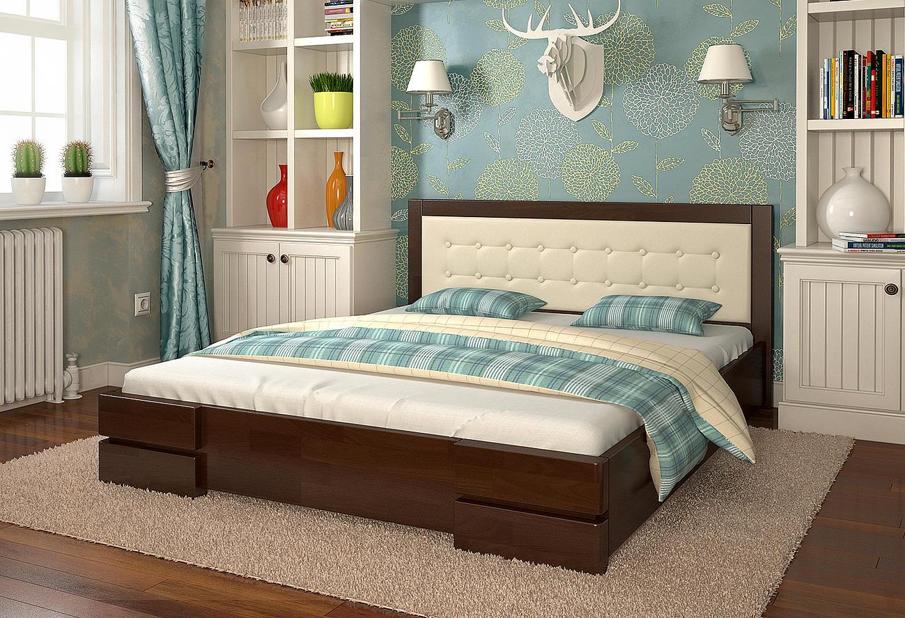 Кровать итальянский орех