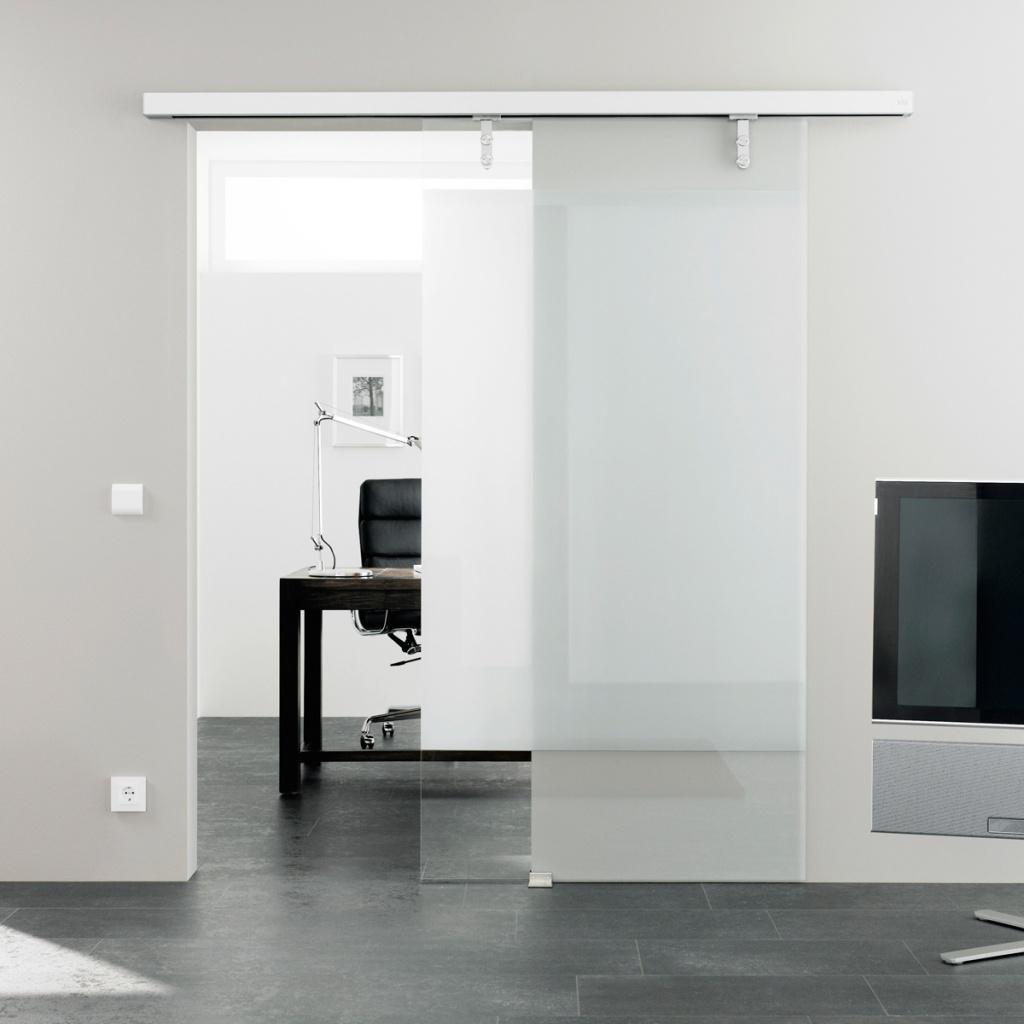 Автоматическая дверь в кабинете