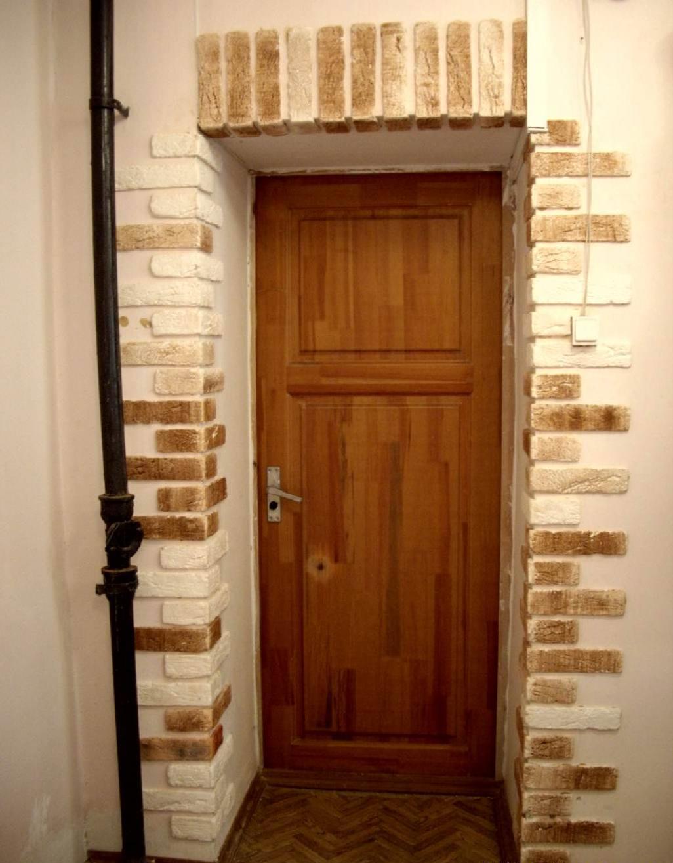 Дверные откосы из кирпича
