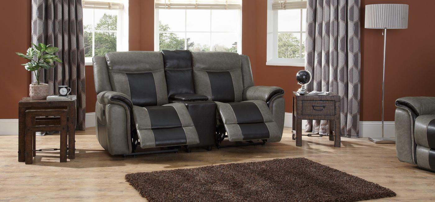 Комбинированный диван-реклайнер