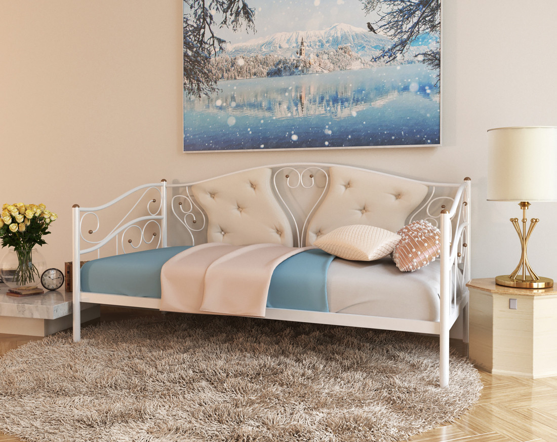 Кованая кровать тахта