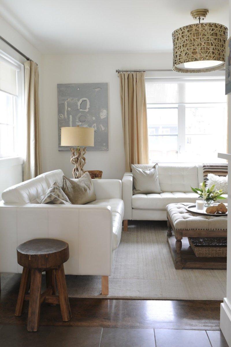 Кожаный диван-тахта