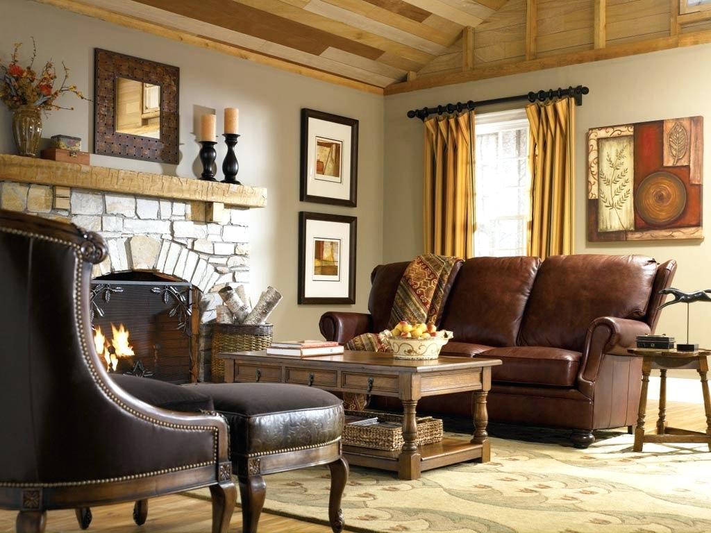 Узкий кожаный диван
