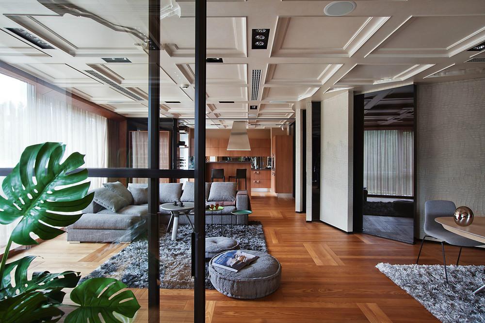 Гипсовый потолок в квартире