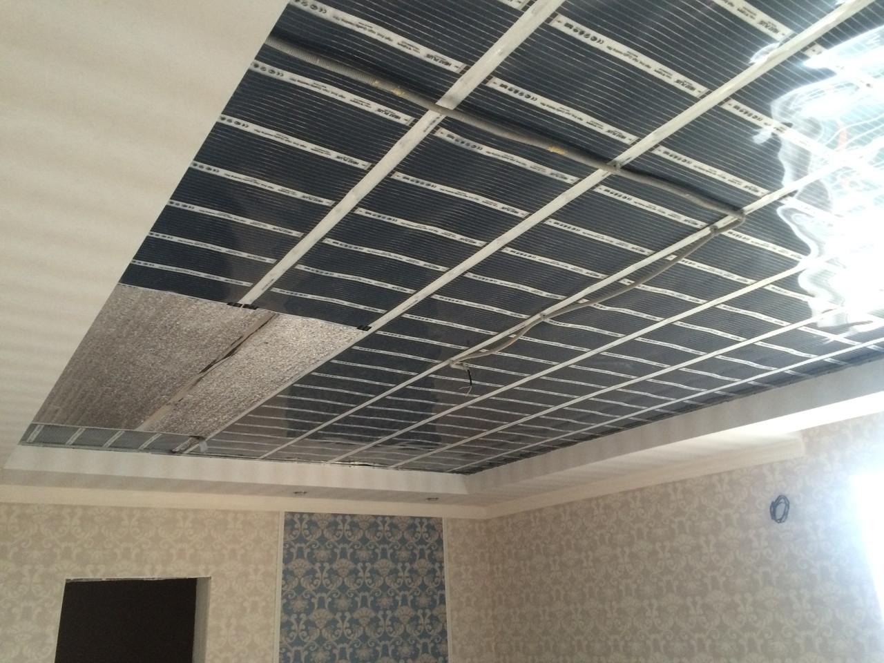 Инфракрасный потолок в квартире