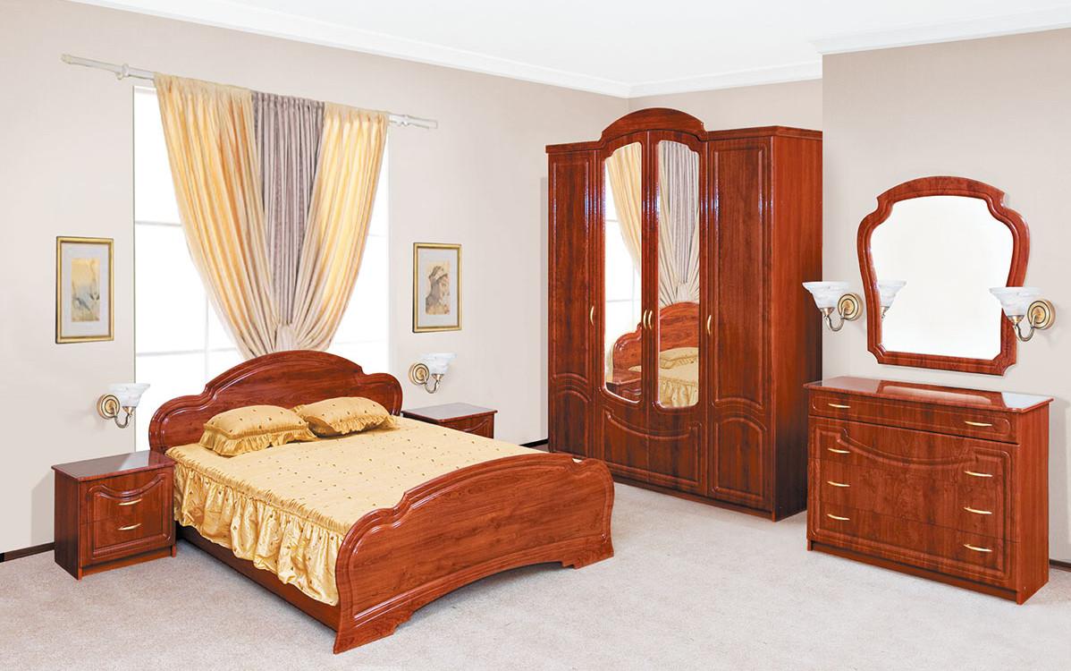 Глянцевая лакированная спальня