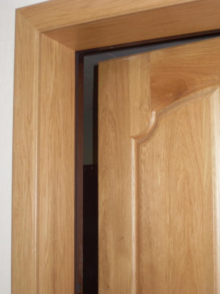 Откосы из ламината на двери