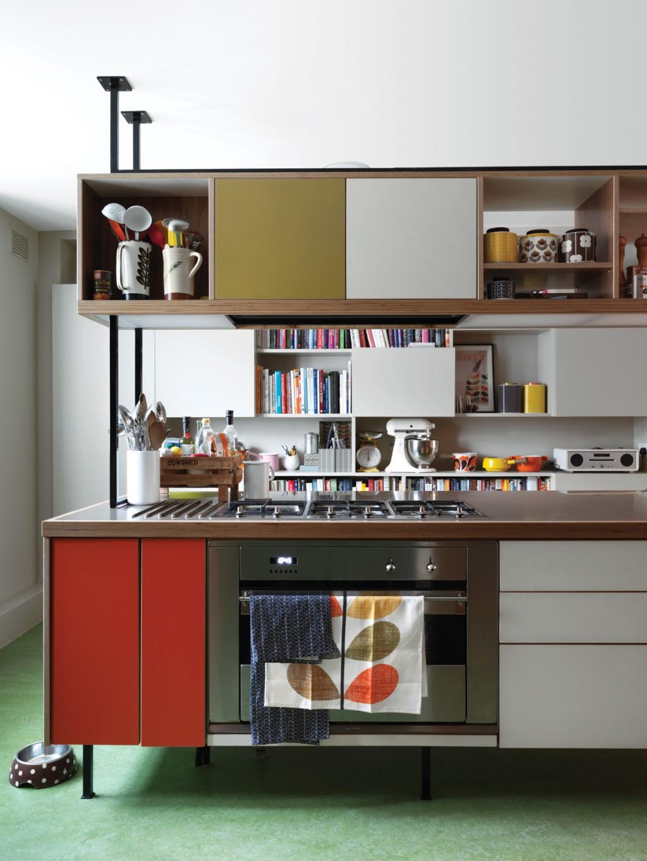 Шкафы для кухни в стиле лофт