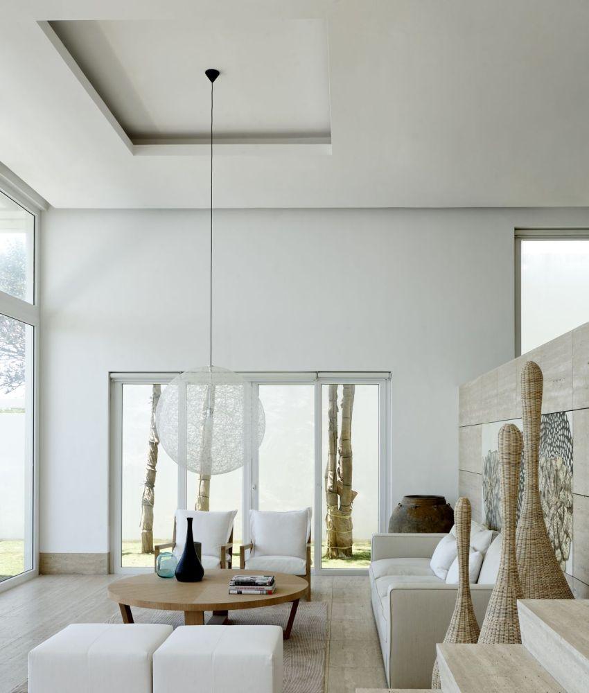 Ниша в потолке для люстры